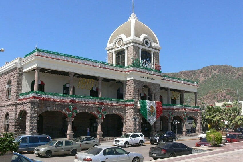 Municipal offices in Guaymas: some poor decisions were made here.