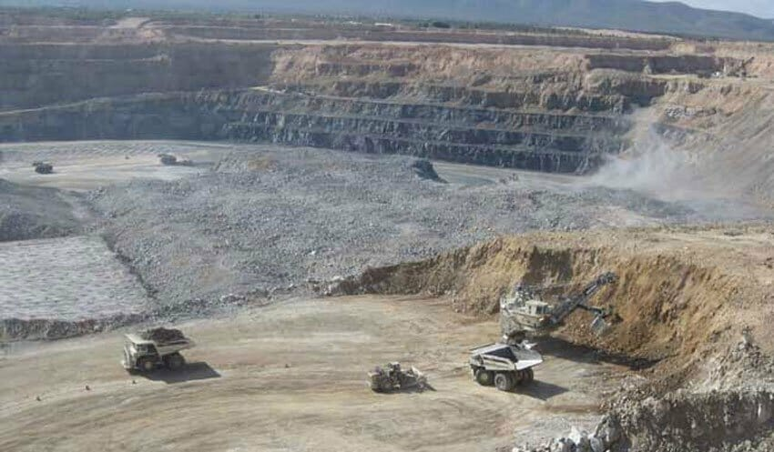 The Peñasquito mine in Zacatecas: silver production was down.