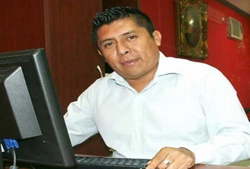 Pat Cauich, second of two journalists murdered in Quintana Roo.