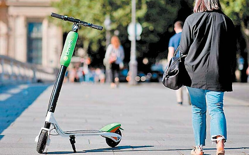 Lime e-scooters now in Mexico City.