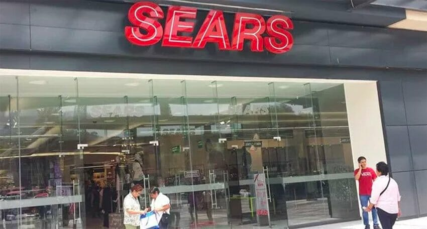 Sears México is opening new stores.