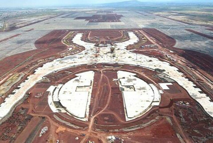 The partially finished airport: signature infrastructure project or boondoggle?