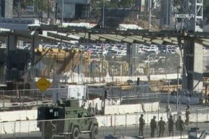 The San Ysidro border crossing was shut down after a rush on the border last month.