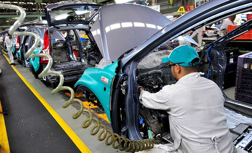 Car and pickup truck production is the leading sub-sector of Mexico's manufacturing industry.