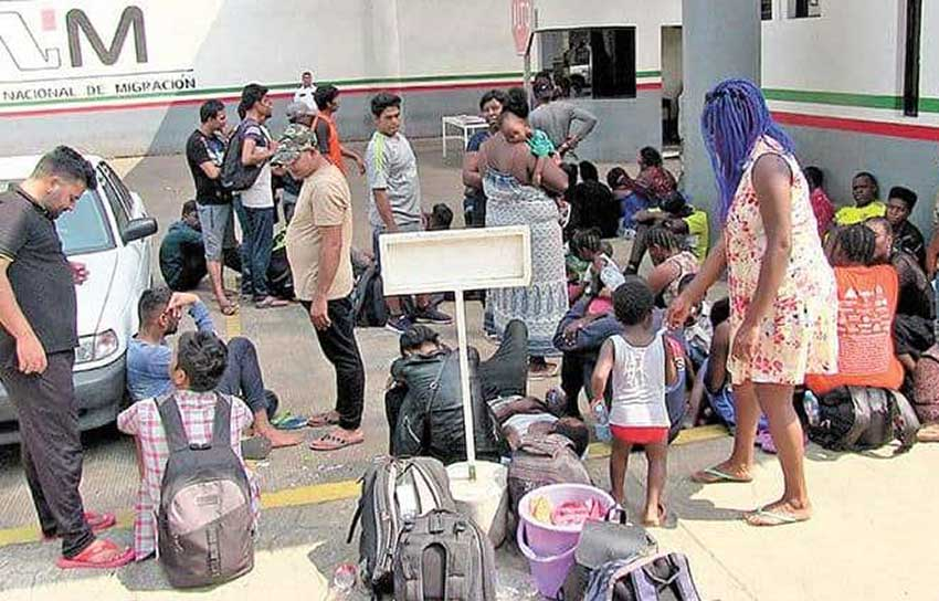 New wave of migrants in Tapachula, Chiapas.