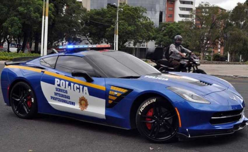 Hot wheels: Guanajuato police unveil their new patrol cars.