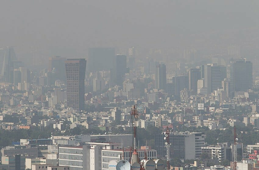Fires have worsened air quality situation in Mexico City.