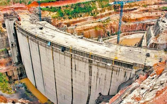 The Zapotillo dam in Jalisco, halted by injunctions.