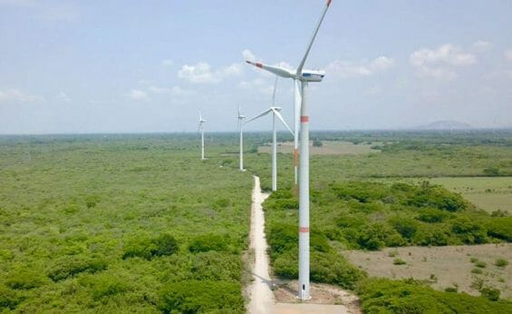 After years of controversy, another wind farm in the isthmus.