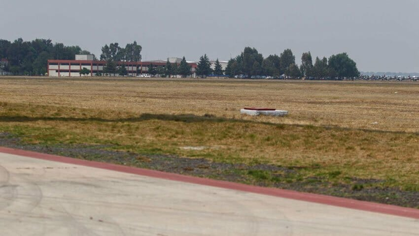 The airport site will remain quiet until permits are issued.