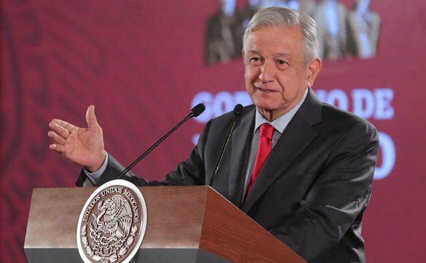 López Obrador announced plans for a 'unity' event in Tijuana during this morning's press conference.