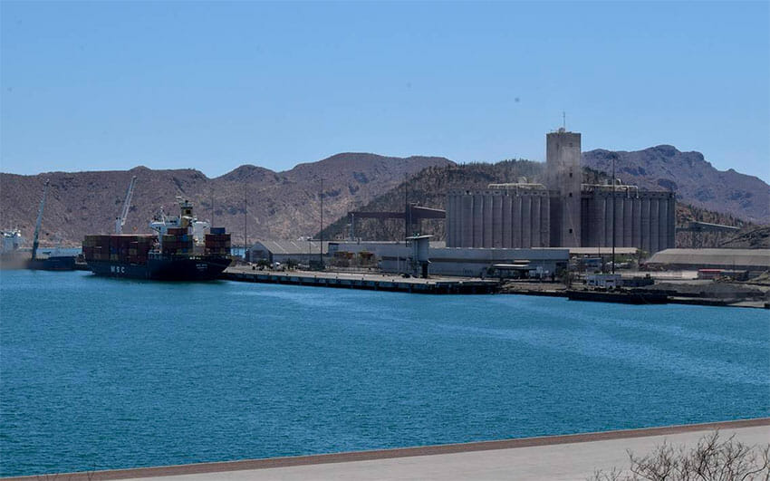 Guaymas, site of the sulfuric acid spill.