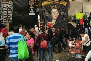 Micheladas Lupillo is one of the many hot-spots at Tianguis el Tepito.