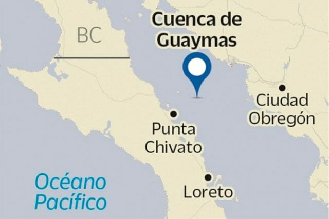 The Cuenca de Guaymas, or Guaymas Basin, where the drilling is taking place.