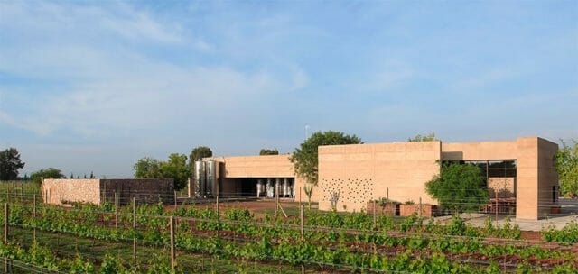 The winery has 30 hectares of grapes in production.