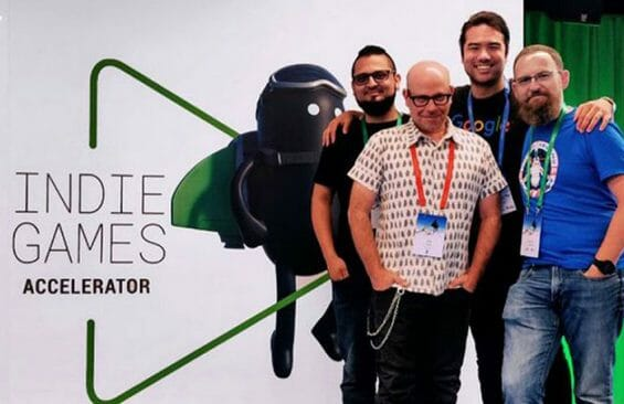 6. Representatives of 1 Simple Game at the bootcamp in Singapore.