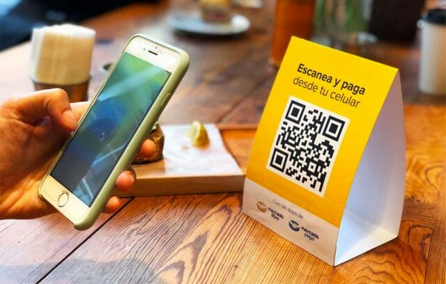 Scan and pay: small businesses might take some time to sign on.