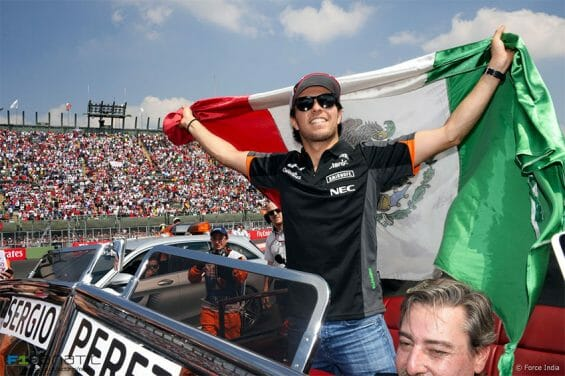 Sergio Pérez is the top-ranked Mexican driver at this year's race.