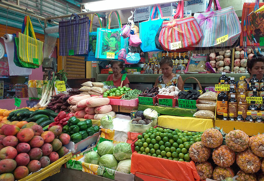 A Mexican market is a great place to shop for almost anything.