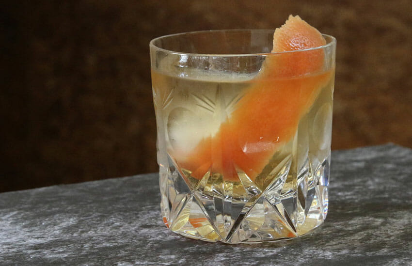 Celebrate New Year's with a mezcal cocktail.