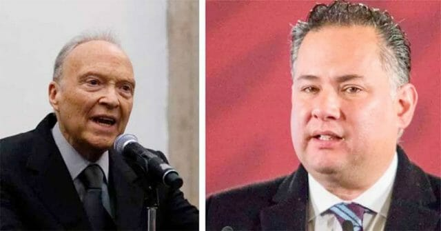 Gertz Manero, left: 'looting the country; and Nieto: 'party's over.'