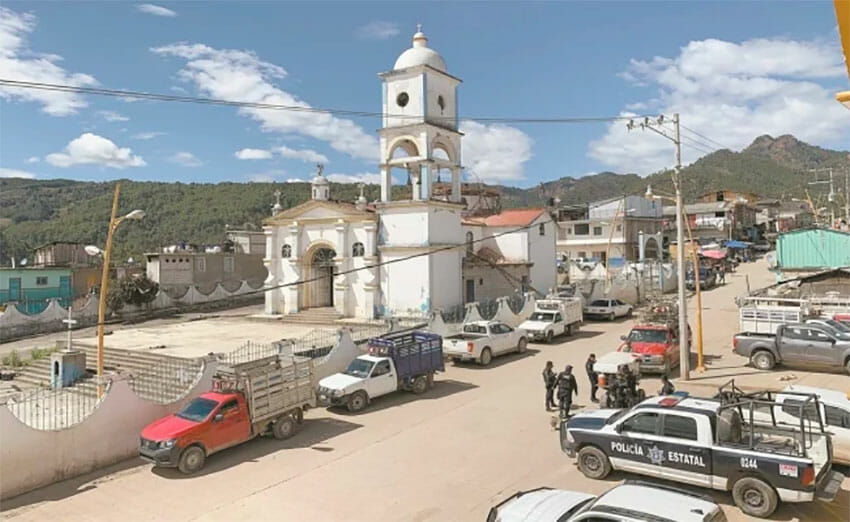 Treatment is eight hours away for people who live in Cochoapa.