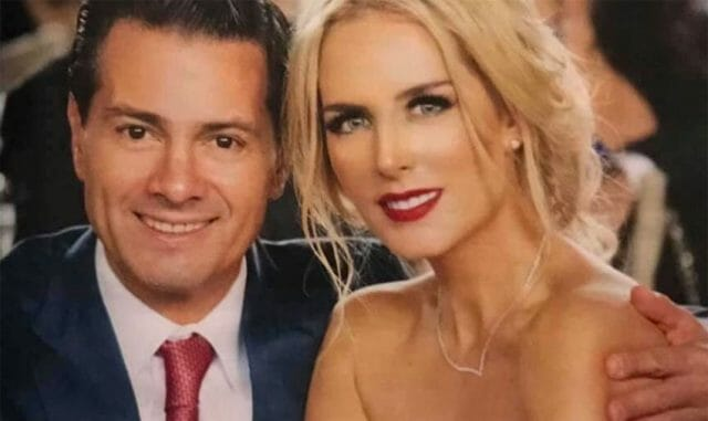 Peña Nieto has kept a low profile since he left office, but has been seen occasionally with model Tania Ruiz.
