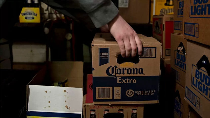 Mexican beer still available in US as exports continue.