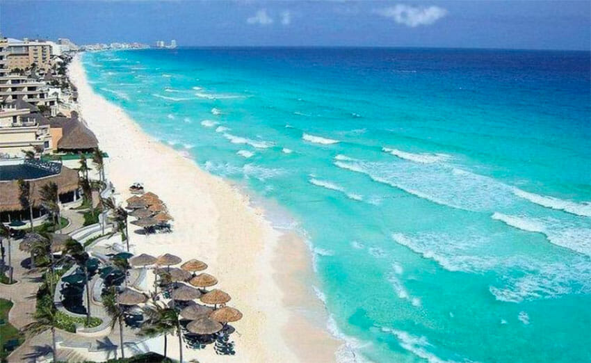 Cancún hopes to assure travelers that it's a safe destination.