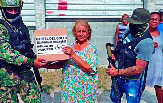 Gifts from the Gulf Cartel.