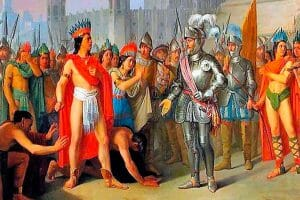 The first meeting between Moctezuma and Cortés is recreated in vivid detail by author Camilla Townsend.