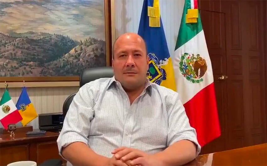Governor Alfaro offers an apology in a video released Saturday.