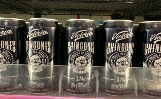 Victoria Chingones, a low-alcohol pandemic beer.