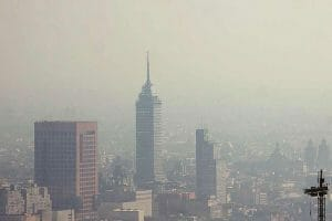 May 2019 was a particularly bad month for air quality in Mexico City.