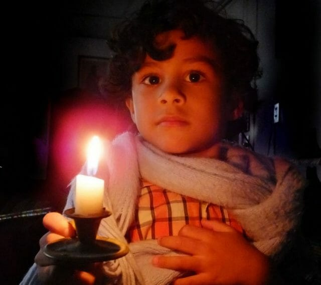 A power failure, like any other mishap, can open doors and spark new awarenesses.