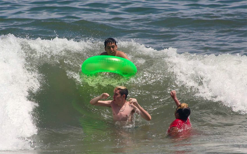 Under new beach rules, they're too close for comfort.