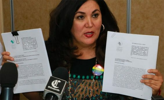 Deputy Miriam Cano, who proposed the bill, said threats were made against her.