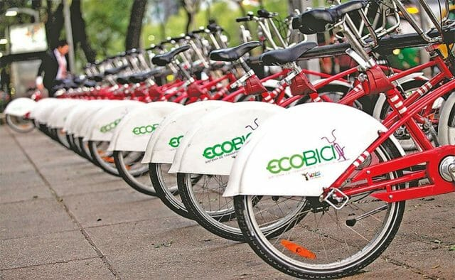 The city's Ecobici is Latin America's biggest bike-sharing system.