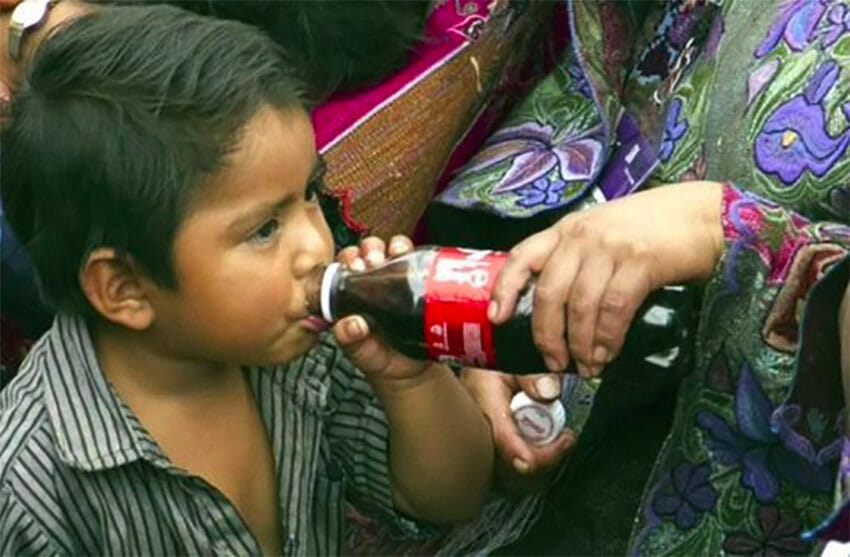In Chiapas, soft drinks can be easier to find than bottled water.