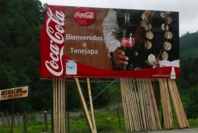 Welcome to Tenejapa, Coca-Cola country.