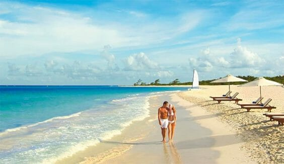 Playa Xcalacoco is one of three beaches that will reopen this week.