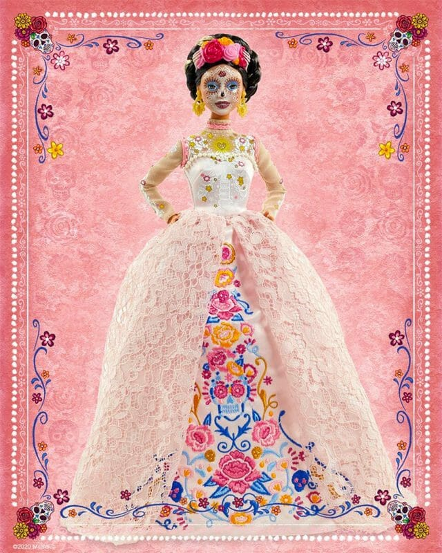 Mattel's Barbie Catrina, ready for Day of the Dead 2020.