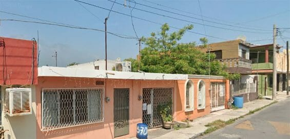 Homes on this street in Monterrey were listed as the addresses of some of the shell companies.