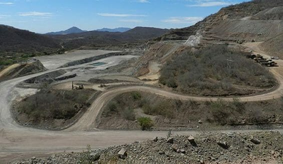 Thieves stole US $8.5 million worth of gold from the Gallo mine in Sinaloa in 2015.
