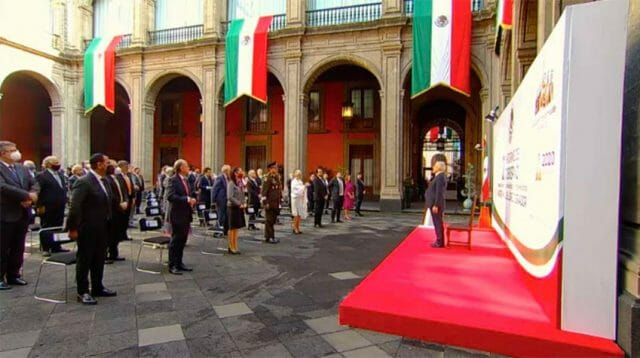 'Governing with rectitude and love:' AMLO