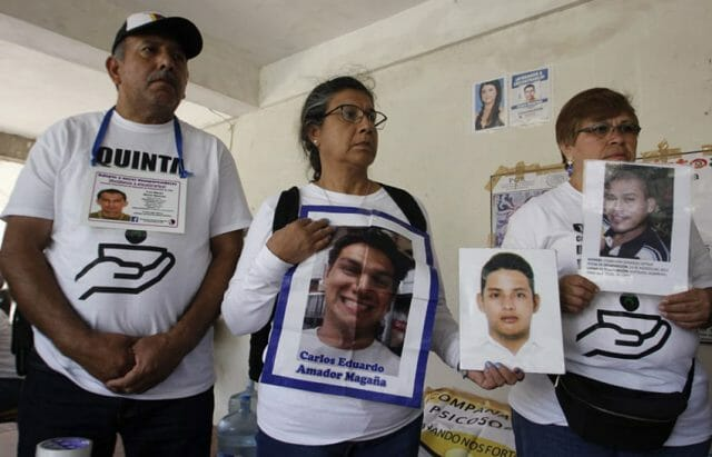 Families of the missing are left with memories and photos.