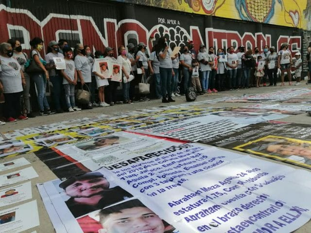International Day of the Disappeared was celebrated August 30 in Guadalajara.