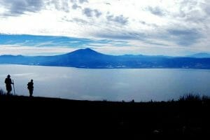A superior spot to view Lake Chapala is from the El Chante Glider Launch Point.
