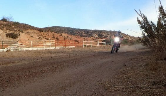 The unpredictable Baja 1000 racecourse covers every surface from hard pack to soft sand, with deep ruts and rocks. Racers carry food and water in case of a breakdown.
