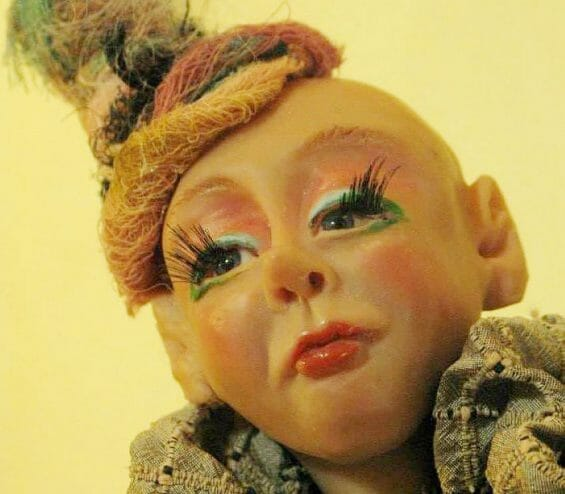 Mayra René's art melds U.S., European and Mexican doll making traditions.